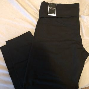 Victoria's Secret cotton fold over leggings